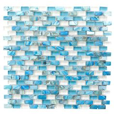 """We were looking for a backsplash for our San Diego townhome and came upon this beautiful tile. There are even shells in some of the pieces. Looks beautiful and unique."" --Home Depot customer ""CollegeFamily."" This glass and shell mosaic wall tile is one of The Home Depot's most-pinned products."