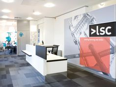 Learning and Skills Council, Nationwide Offices Roll Out #Interiors #Graphics #Architecture