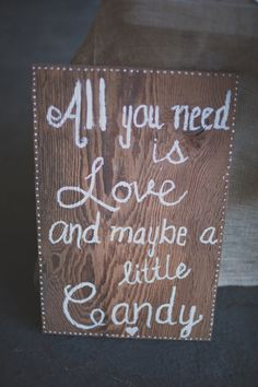 Rustic Wedding Sign From Los Angeles Rustic Wedding With Amazing Details And Stunning Ideas