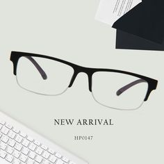 006f436c0a1 Aletta Half-Rim Glasses HP0147-02-02 Half Rim Glasses