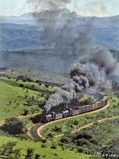 A photographic history of the South African Railways at the end of the steam era. A book writing project of Les Pivnic and Charlie Lewis that captures for future generations the essence of a once magnificent transport network in South Africa - the SAR.