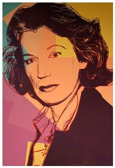Andy Warhol, Mildred Scheel (From the series of Ten Portraits of Jews of the 20th Century)