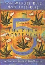 The Fifth Agreement: A Practical Guide to Self-Mastery, by Don Miguel Ruiz and Don Jose Ruiz. Some great analogies, and even easier to grasp than the original book, The Four Agreements, this book has the first four explained more clearly, with a fifth agreement at the end.