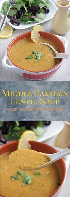 Vegan Lentil Soup, Lentil Soup Recipes, Best Soup Recipes, Vegetarian Recipes, Chili Recipes, Easy Recipes, Stove Top Recipes, Gluten Free Soup, Slow Cooker Soup