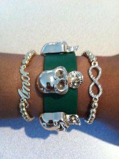 Green Skulls from Picsity.com