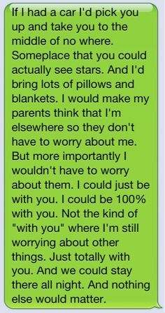 This is adorable and all but i dont want it in a text. Say that crap to my face..