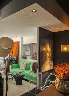 Apartamento de Maximiliano Crovato reflete sua história