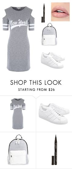 """Lazy day"" by wadkinsemily1 on Polyvore featuring adidas Originals, Poverty Flats and Smith & Cult"