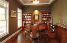 Dining Room Carlisle Homes, Luxury Real Estate, Ontario, Bookcase, Dining Room, Canada, Shelves, Home Decor, Shelving