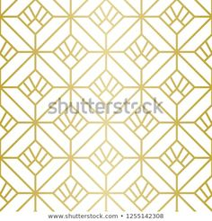 Seamless Vector Lines. Trendy Golden Look. Golden Pattern, Geometric Lines, Background Patterns, Royalty Free Stock Photos, Graphic Design, Luxury, Illustration, Image, Illustrations