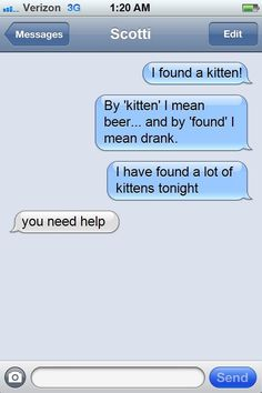 17 Drunk Texts That Will Remind You Of Your Wild Nights