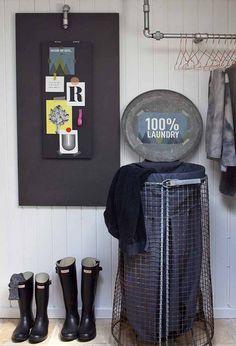Opfindsom løsning på ophobet vasketøj!