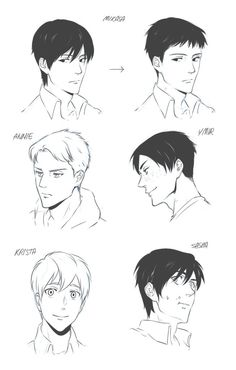 Shingeki no Kyojin (Attack on Titan) --- oh dear titans! Mikasa looks cool (even her manly version looks cook *-*)