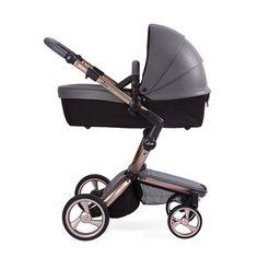 Kinderwagen mima xari rosé gold flair cool grey