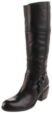 Clarks Women's Mascarpone Mix M US, The Clarks Mascarpone Mix boasts cowgirl styling with city-girl comfort. This women's tall boot is crafted of premium leather in glossy black, with authentic harness strap detail, side zip and chun. Tall Boots, Black Boots, Shoe Boots, Shoes Sandals, Women's Boots, Shoe Deals, Cowgirl Style, Clarks, Me Too Shoes