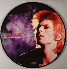 "David Bowie John I'm Only Dancing (Picture 7"")"