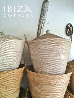 Home Decoration For Birthday Party Home Interior Design, Interior Styling, Interior Ideas, Basket Lighting, Ibiza Fashion, African Design, House In The Woods, Hippie Style, Wicker Baskets