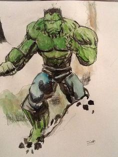 The Incredible Hulk by PurpleMonkeyDishwism on DeviantArt