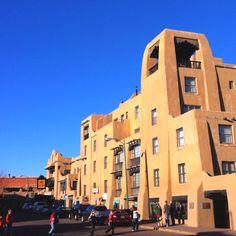 Downtown Santa Fe - missing the LaFonda!