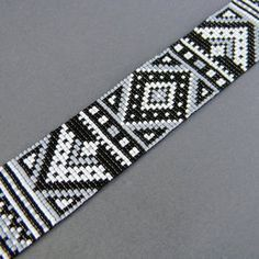 Pattern for Diadem Bracelet with Silky Beads | onlybracelet