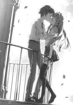 ( 変態王子と笑わない猫。 ) Kiss Yōto Yokodera with Azusa Azuki ♡