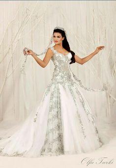 Olfa Turki - amazing  Tunisian wedding dress