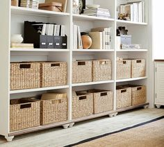 May 2020 - Looking for chic home office design, layout, and decor ideas? Our Home Office Ideas board is full of the best tips, tricks, and hacks for home office space organization and decor Office Organization At Work, Home Office Storage, Home Office Design, Home Office Decor, Office Ideas, Home Decor, Cozy Home Office, Office Designs, Organized Office