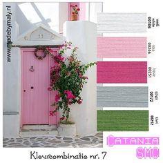 Kleurinspiratie week 1 t/m 12 | madebymaly - veel kleurcombinaties Catania