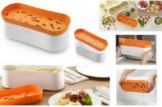 Con #PastaCooker di #Lèkuè cuoci qualsiasi tipo di pasta al #microonde, in modo più veloce e pulito. Comodissimo da usare: cuoci, scola e servi in uno stesso recipiente qualsiasi tipo di pasta, rispettandone i tempi di cottura. http://www.cucinaincasa.com/lekue-cuocipasta-x-microonde-27x10x1-2725.html