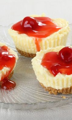 Weight Watchers Friendly Mini Cheesecakes Recipe - 4 Smart Points