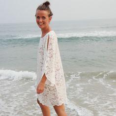 Spetsklänning 60tal , crème - Odd-Living.com