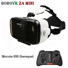 7fe1adc75d72 BOBOVR Z4 Mini Video 3 D Googles VR 3D Virtual Veality Glasses Helmet 120  FOV Google Cardboard for 4-6  Mobile Phone