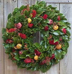 Clementine Magnolia Wreath by Circle Home and Design