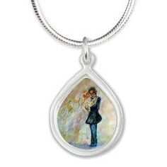 Wedding Dance Necklaces Wedding Gifts by artist Marie-Jose Pappas of Innocent Originals
