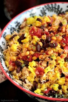 Southwest Chicken and Rice Recipe #chicken #paleo #healthy
