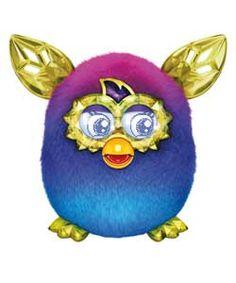 Furby Boom Crystal Series Purple to Blue ARGOS IT:)