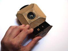 Craft Camera: A DIY Digital Camera Made with Cardboard and Arduino Pinhole Camera, Photography Camera, Amazing Photography, Cardboard Camera, Camera Photos, Camera Obscura, Create And Craft, Diy Electronics, Arduino