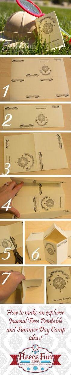 Un livret de l'explorateur a imprimer gratuitement vous trouverez le pdf