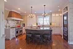 Traditional Kitchen designed by Belle Kitchen www.bellekitchen.com