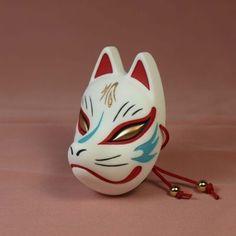 – Other kitsune masks - To Have a Nice Day Kitsune Maske, Hannya Maske, Zorro Tattoo, Mask Tattoo, Maneki Neko, Mascara Anbu, Japanese Fox Mask, Tattoo Tradicional, Mascaras Halloween