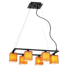 Hermes 6-Light Cable Chandelier by Access Lighting