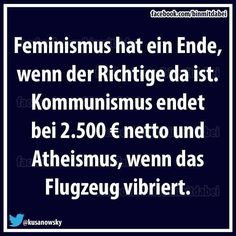 feminismus, atheismus, Kommunismus, Flugzeug **When the time is right, it will happen