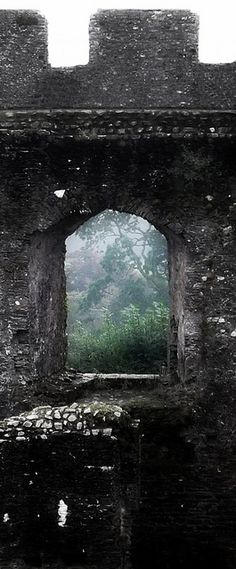 Everything about it was old. Old and ancient. Even the stones, weathered and black, radiated long forgotten power.