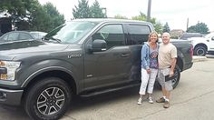 CLINT's new 2015 Ford F-150! Congratulations and best wishes from Kunes Country Ford Lincoln of Delavan and Deanna Klosterman.