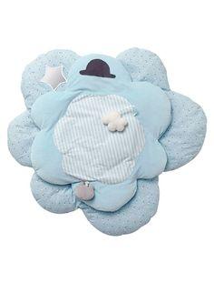 Tapis d'éveil bébé thème Miaous'tach BLEU - vertbaudet enfant