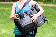 Camera Bag Review: Thule Covert Roll-Top Backpack