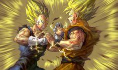 Vegeta VS Goku by GoddessMechanic2.deviantart.com on @DeviantArt