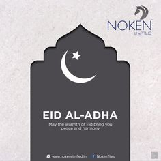 May the warmth of Eid bring you peace and harmony. Eid Al-Adha! Eid Al Adha, Happy Eid, Peace And Harmony, Eid Mubarak, Creative Design, Bring It On