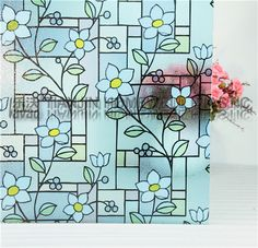 M005 0.35mm decorative privacy no glue static cling window film, View removable static cling window film, LAVAO Product Details from Tianjin Homewell Plastic Co., Ltd. on Alibaba.com