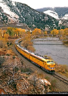 Location Map, Photo Location, Train Light, Union Pacific Railroad, Rio Grande, Locomotive, Idaho, Reign, Montana